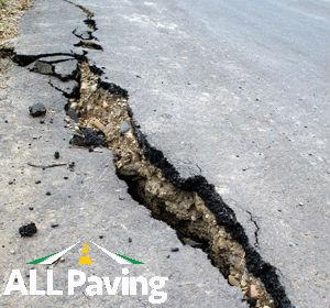 asphalt crack repair Miami Broward